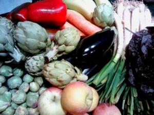 Fruita i verdura ecològica.